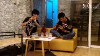Tình đơn côi Sáo trúc Ngọa Long ft. Guitar Nhật Tân