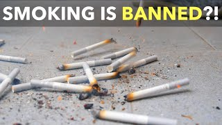 Smoking Is Banned?!