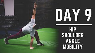 Day 9: Hip + Shoulder + Ankle Mobility Exercises - 30 Days of Training (MIND PUMP)