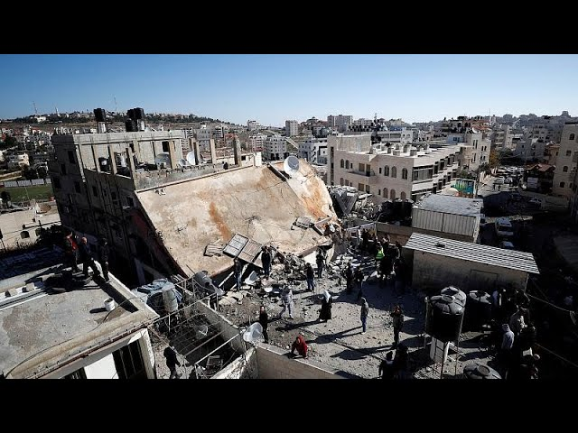 Israeli forces destroy home of Palestinian charged with killing a soldier