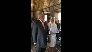 Венчание Ильи Резника в ялтинском храме Покрова Пресвятой Богородицы