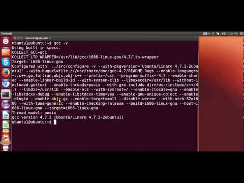 How do I install gcc on Ubuntu Linux by ProgrammingKnowledge2 on YouTube