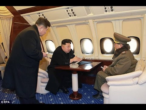 North Korean Dictator Kim Jong-Un's Private Jet Ravealed as Marks Late Father's Birthday...
