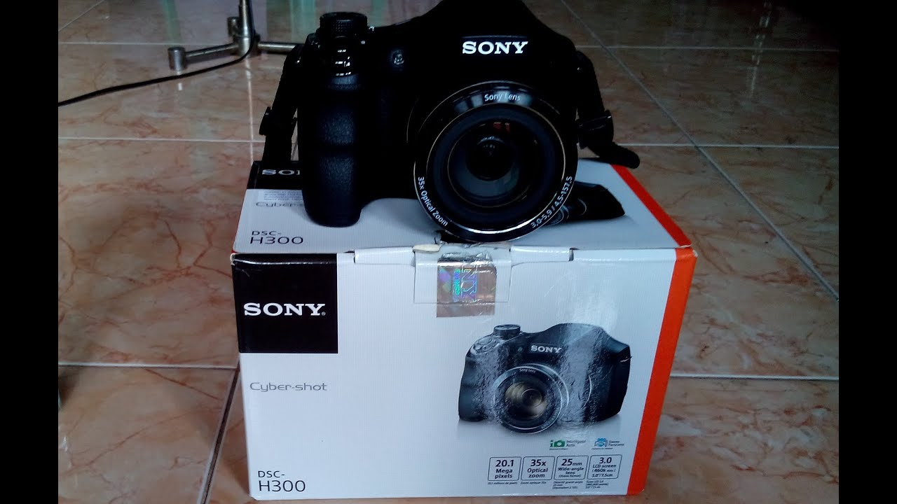 Sony DSC H300 Indonesia unboxing
