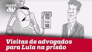 Felipe Xavier: Visitas de advogados para Lula na prisão