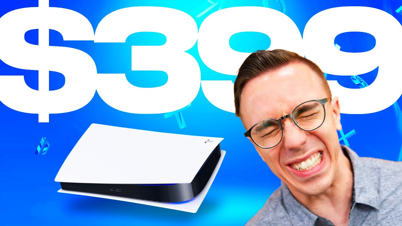 The $399 PS5 is Here.