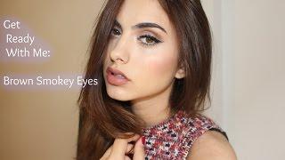 Makeup Tutorial: Brown Smokey Eyes