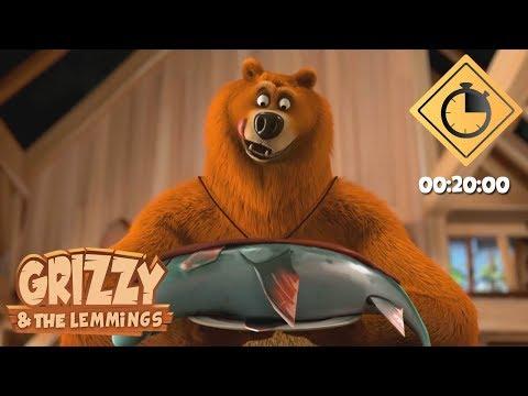 20 minutes de Grizzy & les lemmings // Compilation #07 - Grizzy & les Lemmings