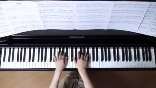 夢灯籠 ピアノ RADWIMPS  映画『君の名は。』挿入歌