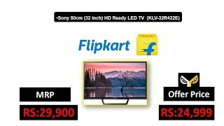 Sony 80cm (32 inch) HD Ready LED TV (KLV-32R422E)