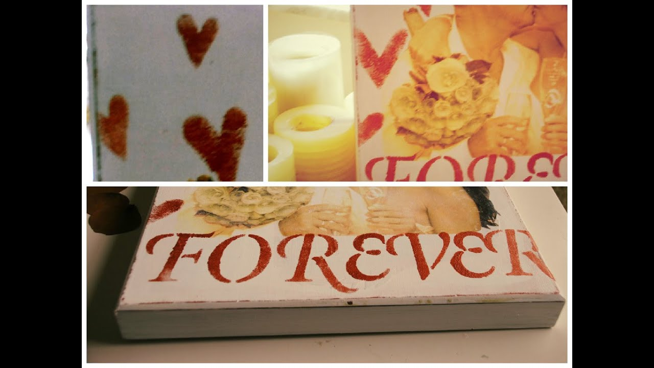 Wedding Gift Ideas To Make : DIY HOW TO MAKE A PERSONALIZED WEDDING GIFT IDEAYouTube