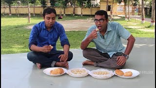 Rasgulla and bread eating challenge | Sweet bread Food Competition