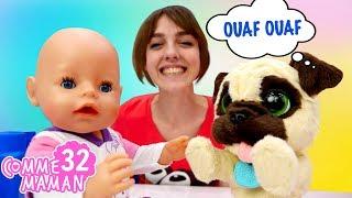 Vidéo en français pour enfants du show Comme maman - épisode № 32. Animaux dans animalerie