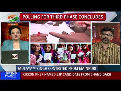 DD India | In-Focus | In discussion with senior journalist Praful Ketkar | 3rd phase of polling