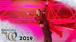 Nadine Angerer sorgt für Gänsehaut nach Romantik-Crashkurs | Dancing on Ice | SAT.1