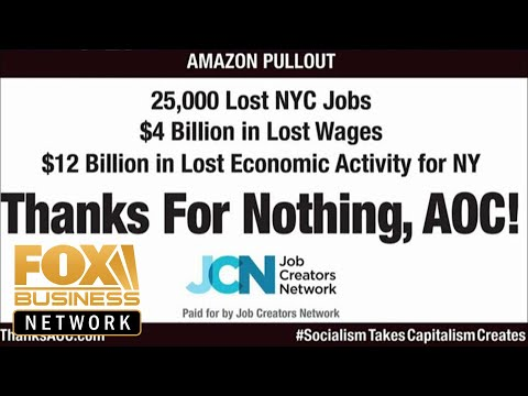 Billboard blasts Ocasio-Cortez for driving Amazon out of NYC