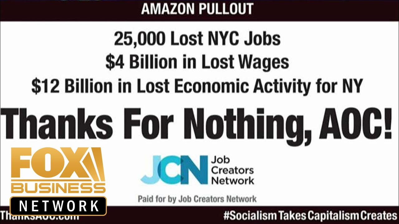 Driving Jobs Nyc >> Billboard Blasts Ocasio Cortez For Driving Amazon Out Of Nyc