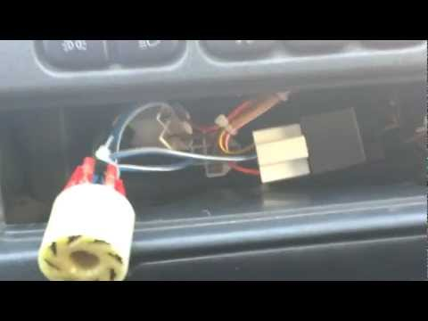 ВАЗ 2114. Ставим евро кнопку аварийной сигнализации. Ч. 1