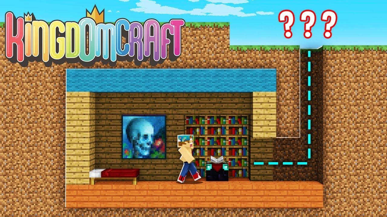 BUILDING A SECRET BASE!! | Kingdom Craft Factions #3