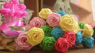 How to make handmade paper flower - Super Easy Way to Make A