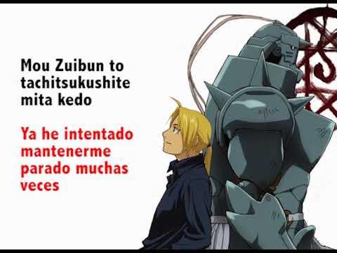 Melissa - Fullmetal Alchemist (Opening) [Romanji & Letra En Español]