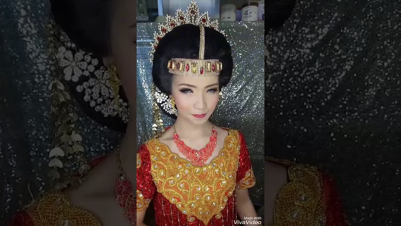 Make Up Wedding Toraja Bride Youtube