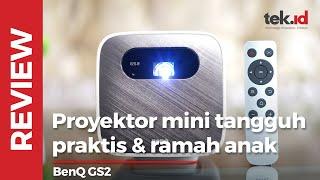 Review BenQ GS2 Indonesia, proyektor portabel tangguh dan ramah anak