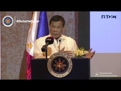 Philippines-Qatar Business Forum (Speech) 4/15/2017