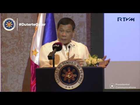 Philippines-Qatar Business Forum (Speech) 4/15/2017