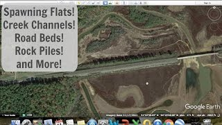 Locate Spawning Flats, Creek Channels, Road Beds, Rock Piles and More!