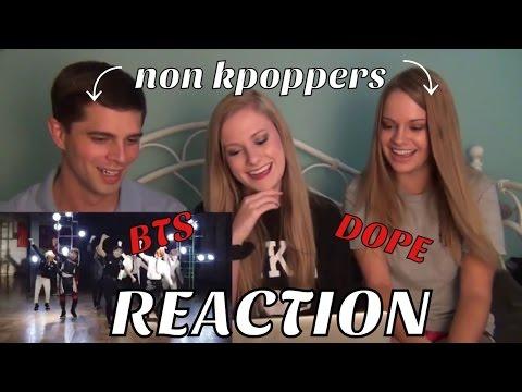 NON KPOP FANS REACT BTS- DOPE MV (방탄소년단) (쩔어)
