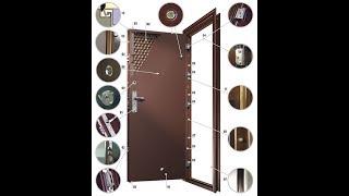 видео Как установить цепочку на металлическую дверь