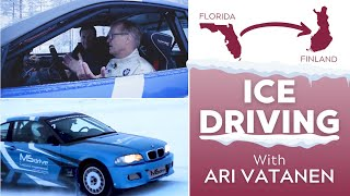 Best of 2020: Ari Vatanen Takes Nick Faldo Ice Driving