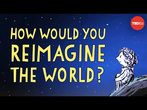 """Video image: How would you finish the sentence, """"Imagine if…""""? - Sir Ken Robinson"""