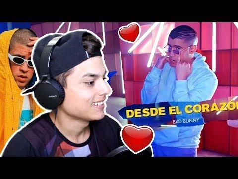 REACCIONO a BAD BUNNY🔥DESDE EL CORAZON!!❤️ (Oficial Video) - Themaxready