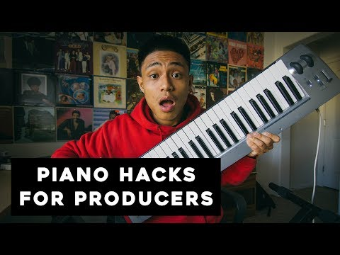 These PIANO tips CHANGED my LIFE! | Producer Hacks