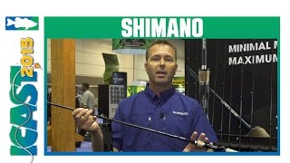 shimano expride casting spinning rods   icast 2015