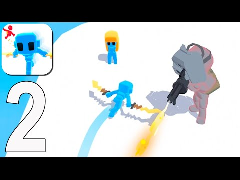 Samurai Flash - Gameplay Walkthrough Part 2 - Level 34-56(iOS, Android)