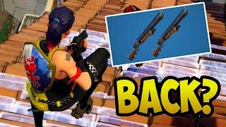 DOUBLE PUMP is BACK in Fortnite!? (Patch v5.30 Shotgun Updates)
