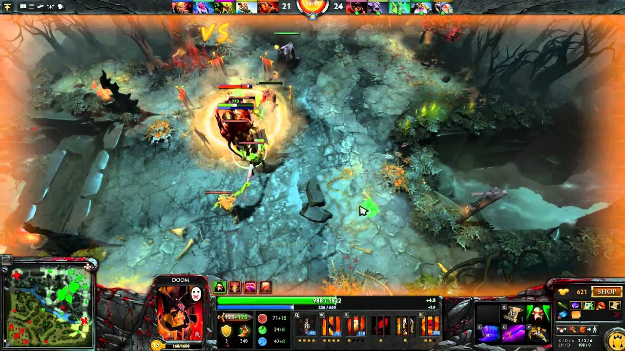 dota 2 epic match double mega creeps both sides youtube