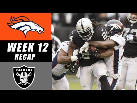 Raiders Defeat Broncos 21-14 Recap