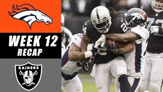 Raiders Defeat Broncos 21-14 Recap