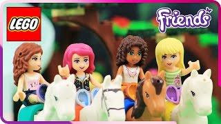 ♥ LEGO Friends Livi Leg Injury at the Royal Horse Ranch