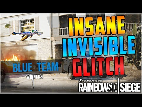 NEW EASY INSANE INVISIBLE GLITCH - EVERY OPERATOR - TUTORIAL - (Rainbow Six Siege) AFTER PATCH