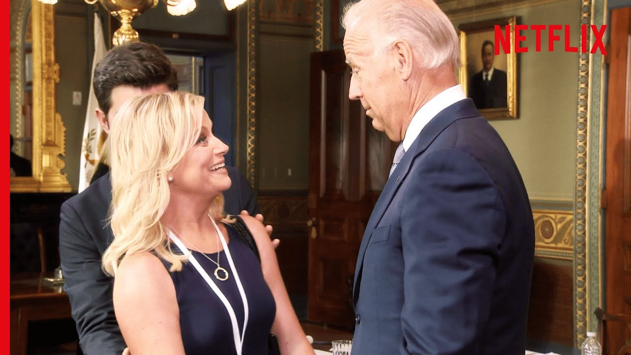 Parks & Recreation | President Joe Biden + Future President Leslie Knope