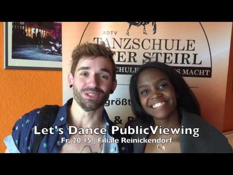 Daniel Küblböck & Otlile Mabuse vor Let's Dance