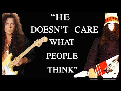 What Buckethead thinks of Yngwie Malmsteen
