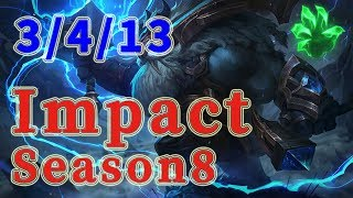 Team Liquid Impact Ornn TOP vs Dr.Mundo Patch 8.17