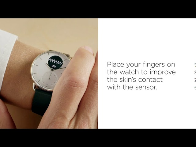 [EN] ScanWatch —  How to record oxygen saturation levels