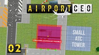 Airport CEO | Bereit zur ersten Landung! ► #02 Flughafen Management Simulator deutsch german